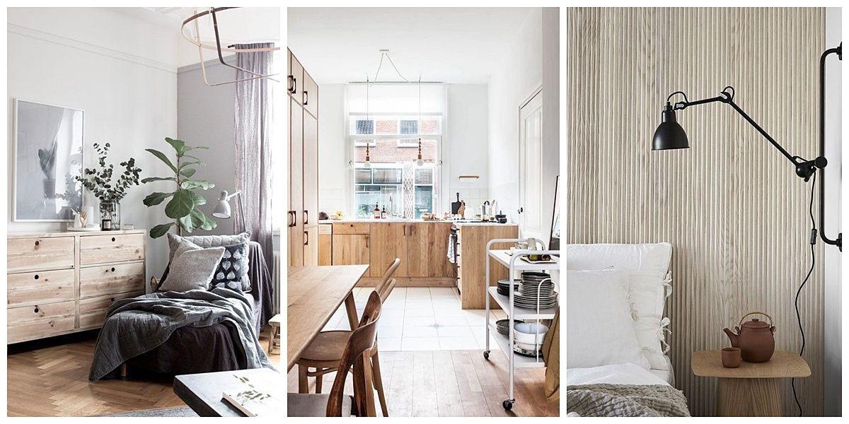 La madera material estrella en un hogar cálido y acogedor @Utrillanais