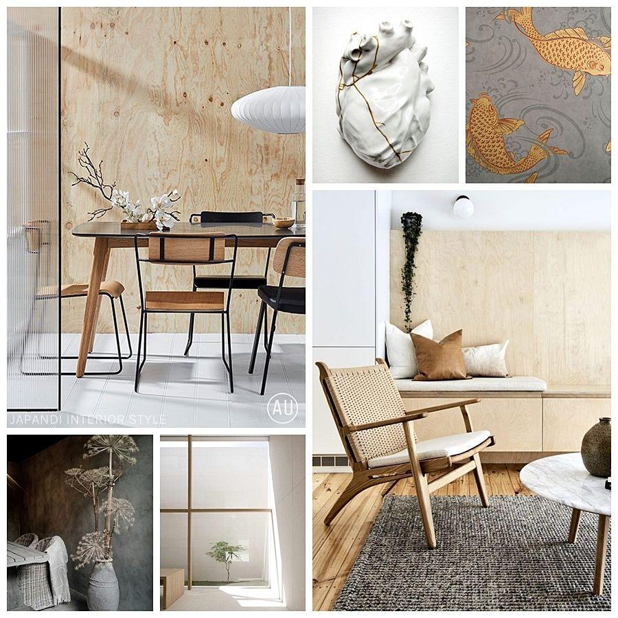 Decoración de interiores de estilo japandi, fusión del estilo japonés zen y scandi @Utrillanais