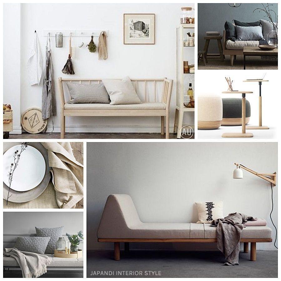 Mobiliario y decoración de interiores de estilo japandi @Utrillanais