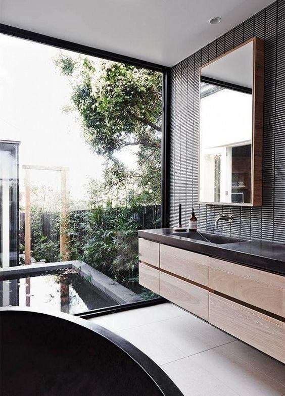 Baño en suite, una opción funcional en la que ubicar el baño en la habitación principal @Utrillanais