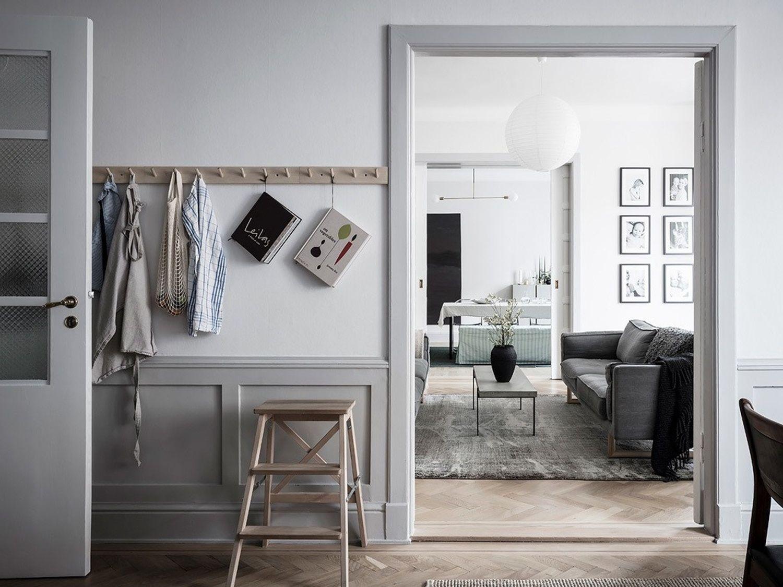 Coco Lapine interior design, ejemplo de decoración estilo shaker, en un ambiente escandinavo, funcional y confortable @Utrillanais