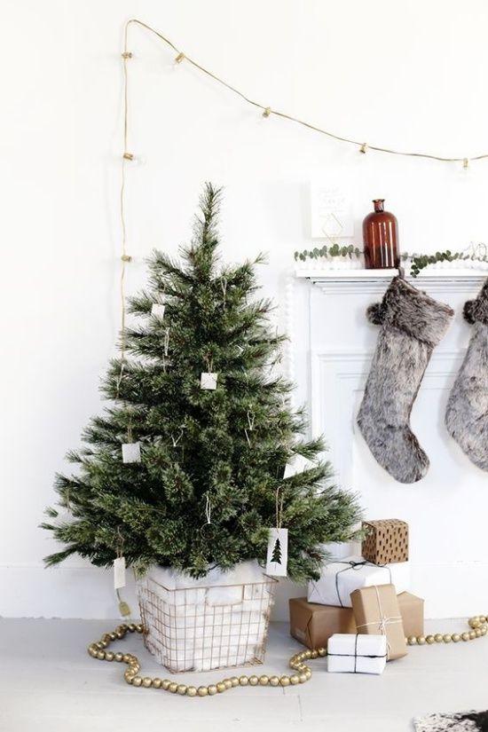 Adornos de Navidad diy de estilo nórdico y colores neutros @Utrillanais
