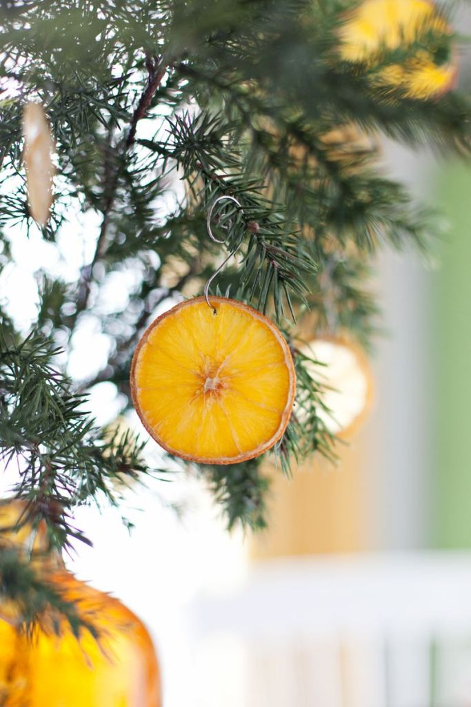 Guirnalda de cítricos diy para Navidad @Utrillanais