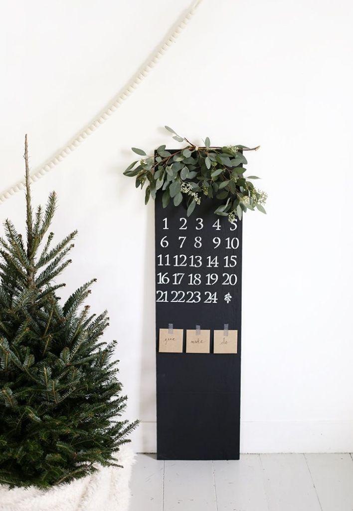 Decora tu casa con el calendario de Adviento de Navidad @Utrillanais