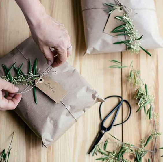 Envuelve tus regalos de manera única y original, envoltorios diy de Navidad @Utrillanais