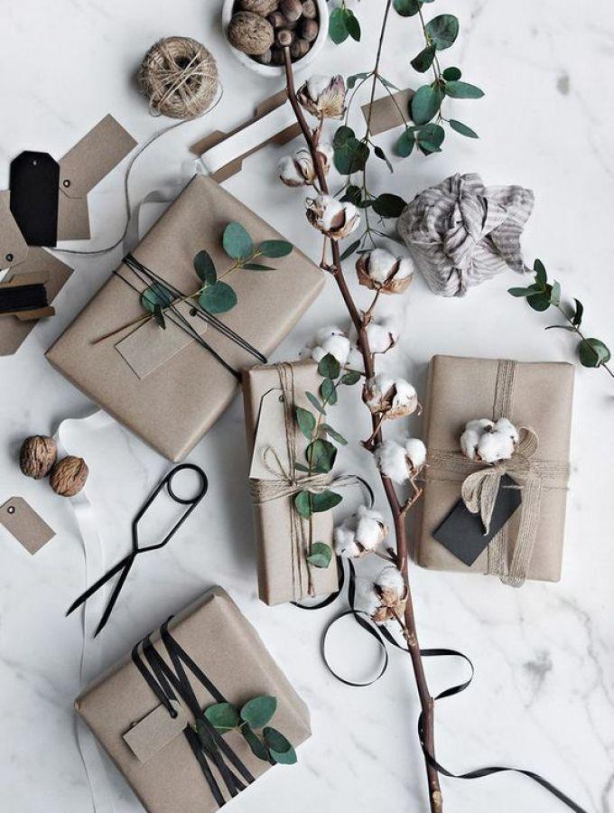 Packaging diy para de regalos de Navidad de estilo nórdico @Utrillanais
