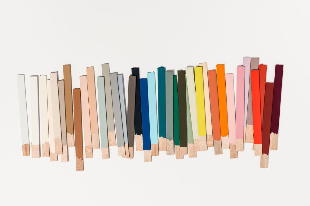 Paleta de colores en tendencia para el 2019 en decoración de interiores según colour Future, Bruguer