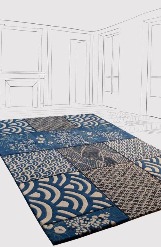 TOULEMONDE BOCHART alfombras de diseño patchwork tendencias decoración 2019 @utrillanais