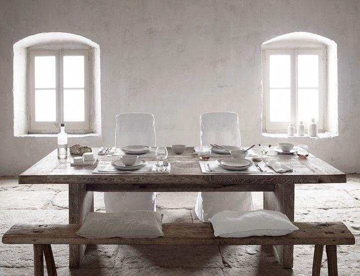 Salón-comedor de Estilo de decoración de interiores nuevo rústico, más minimalista, elegante y sobrio, @Utrillanais