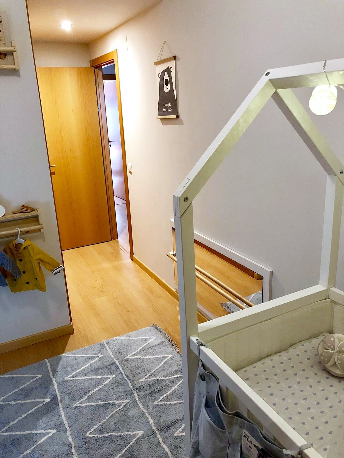 Después de proyecto de interiorismo infantil de estilo nórdico-clásico en Madrid por Ana Utrilla @Utrillanais