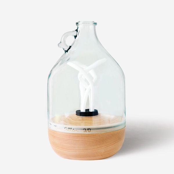 Lámpara hecha a mano, regalo sostenible, consciente, conesmero, tendencias deocración para Navidad 2020 @Utrillanais