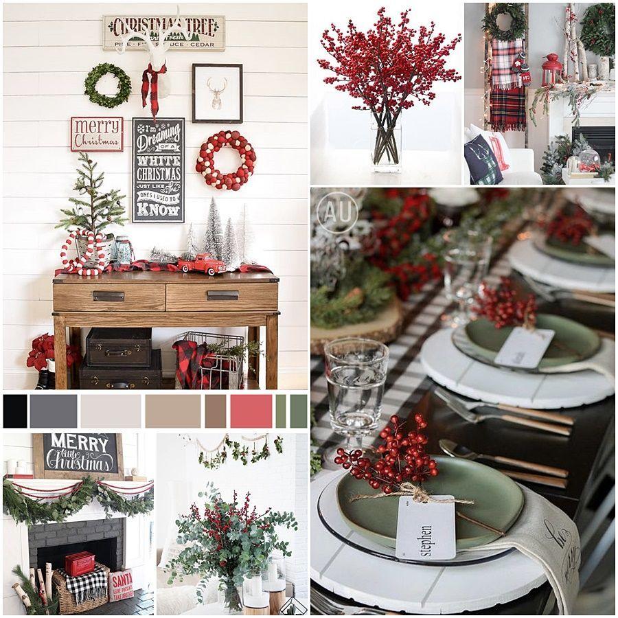 Moodboard tendencias decoración para Navidad 2020, paleta de colores Especias Navideñas, @Utrillanais
