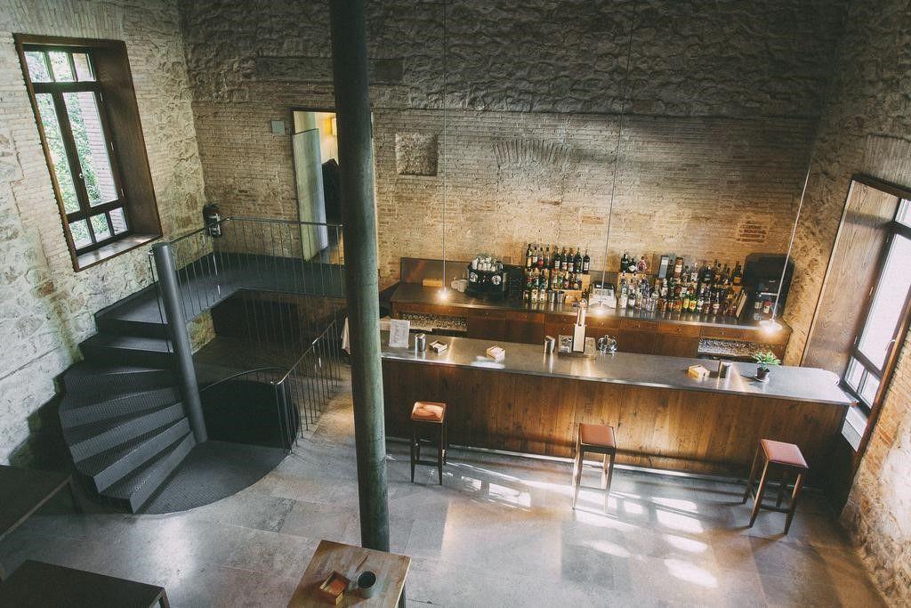 Zonas comunes y bar del hotel Fuente Aceña, Valladolid #TurismoRural #DiseñoInterior #SlowInteriorDesign @Utrillanais