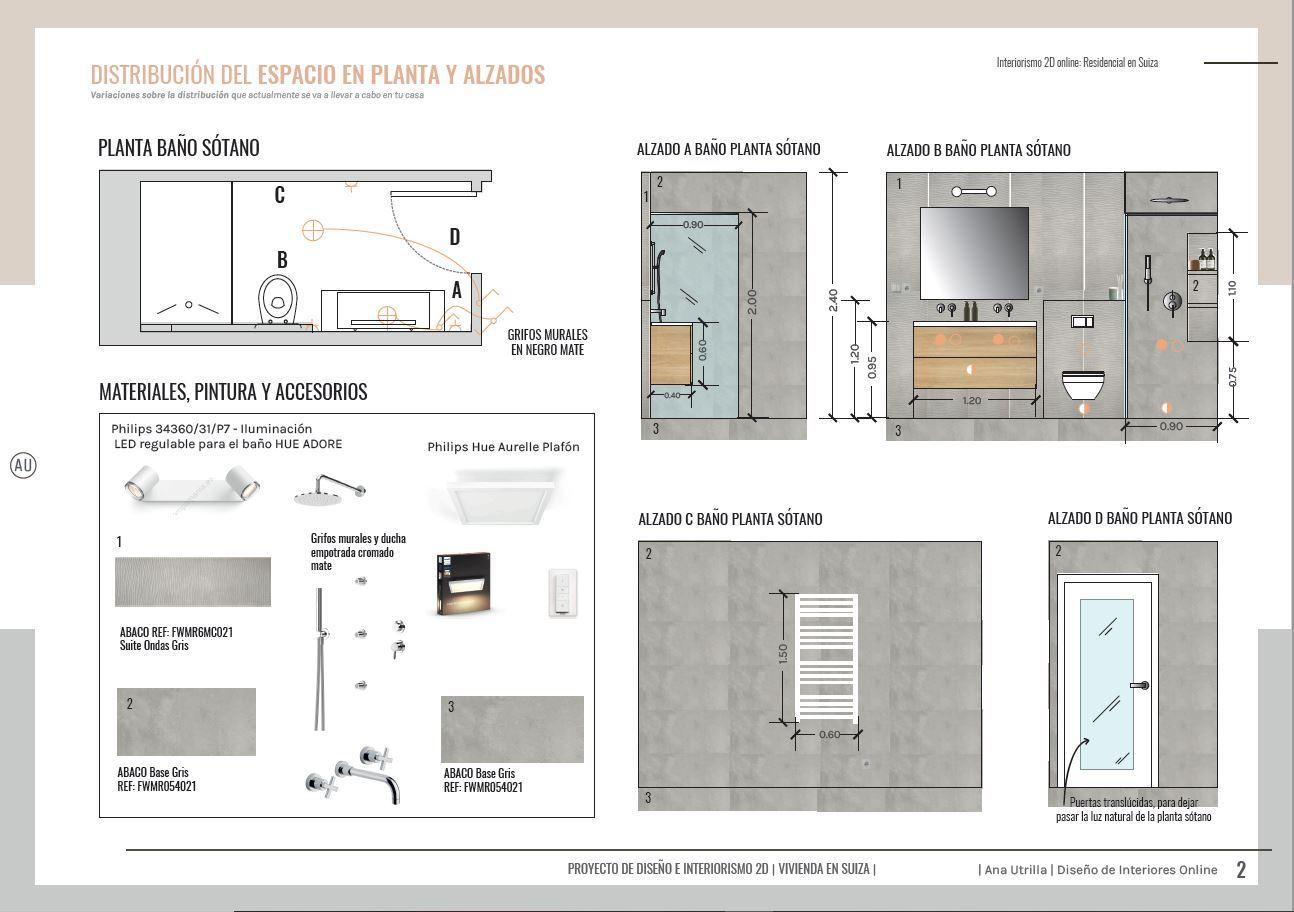 Alzados baño a medida de estilo wellness, tonos neutros, contemporáneo para vivienda en Suiza. @Utrillanais #AnaUtrilla #Interiorismoonline