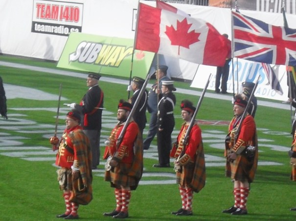 BC Lions Half Time Parade 6