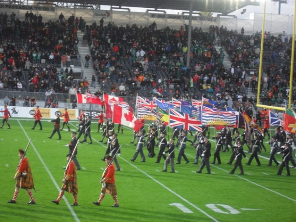 BC Lions Half Time Parade 8