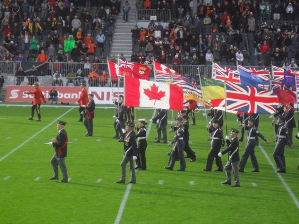 BC Lions Half Time Parade 9