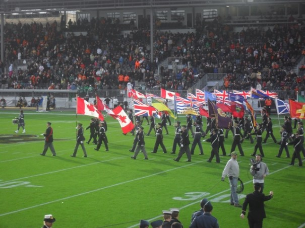 BC Lions Half Time Parade 11