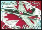 Canadian Heroes  greeting card