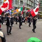 St Patricks Day Parade 2015 Vancouver Colour Guard Party
