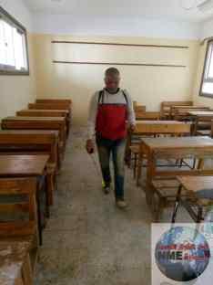 ٥٧  الف و٦٩١  طالب وطالبة يؤدون الاختبارات النظرية داخل ١٩٨ لجنة بعدد 16 ادارة تعليمية