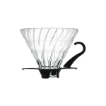 V60 Dripper en verre transparent 1 à 6 tasses