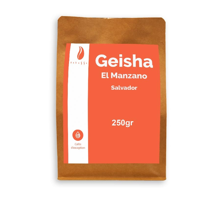 Anbassa Artisan Torrefacteur Exception Geisha El Manzano Salvador