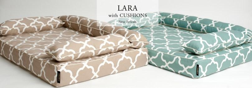クッション付きベッドカバー:ララ
