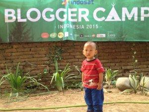 #BabyJo tidak mau ketinggalan memeriahkan hari Blogger Nasional dengan ikut Blogger Camp (sumber: twitter.com/iqbal_meta)