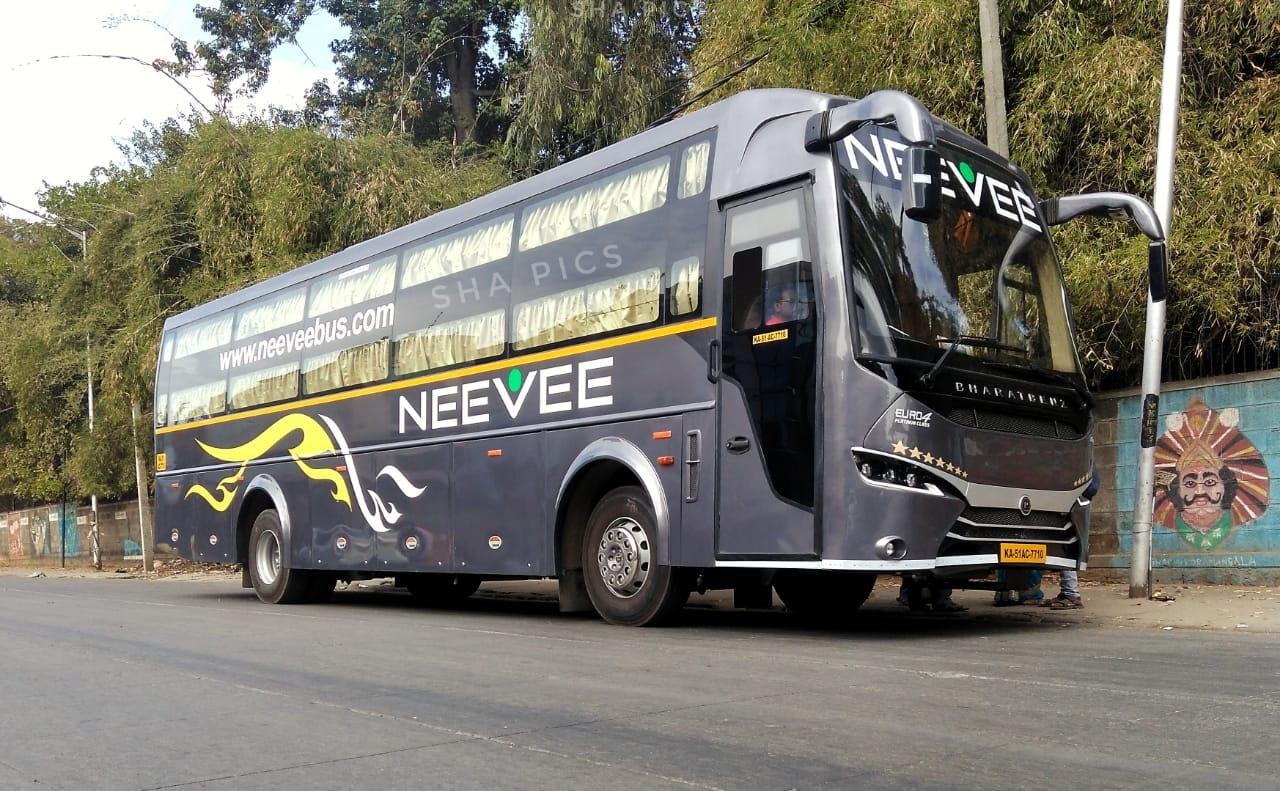 Neevee Travels Bangalore – Chennai Premium AC Sleeper