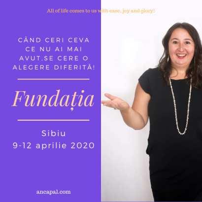 Fundatia Sibiu 9-12 aprilie