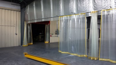 Industrial Curtain Walls Archives Ancarr Industrial Fabrics