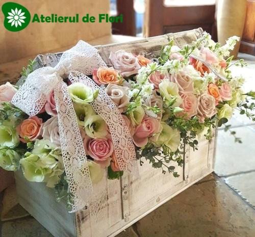 Cufar cu flori nunta