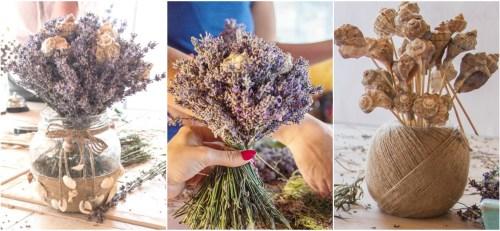 Atelier creatie florala cu lavanda