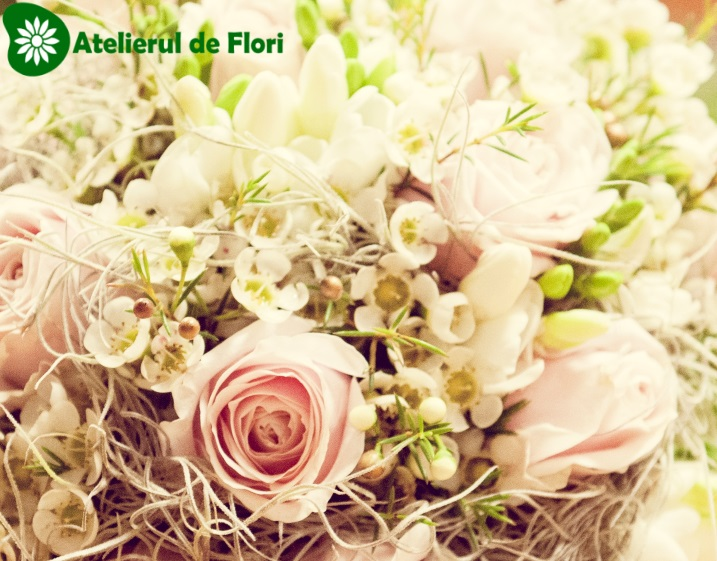 buchet-de-mireasa-trandafiri-roz-pal