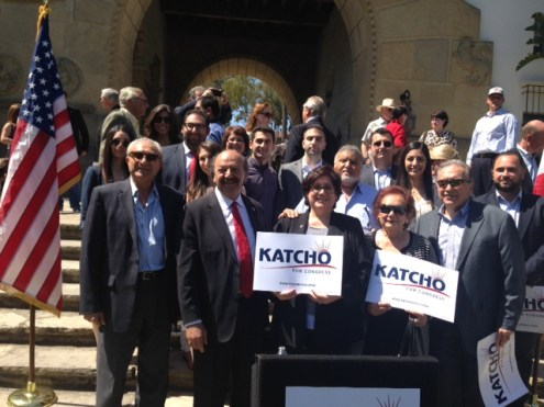 ANCA WR Leadership with  CA Assemblymember and Candidate for Congress Katcho Achadjian