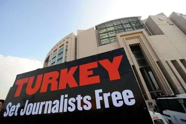 'World's biggest prison' for journalists is Turkey