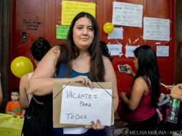 Patricia Pines, madre de uno de los chicos de la escuela pública