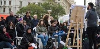 conflicto universitario, imagen de clases públicas