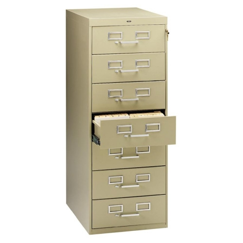 Tennsco Card Files  Media Storage Cabinet  TNNCF758SD