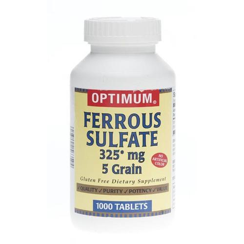 Generic Otc Ferrous Sulfate Tablets - OTC70310 - Shoplet.com