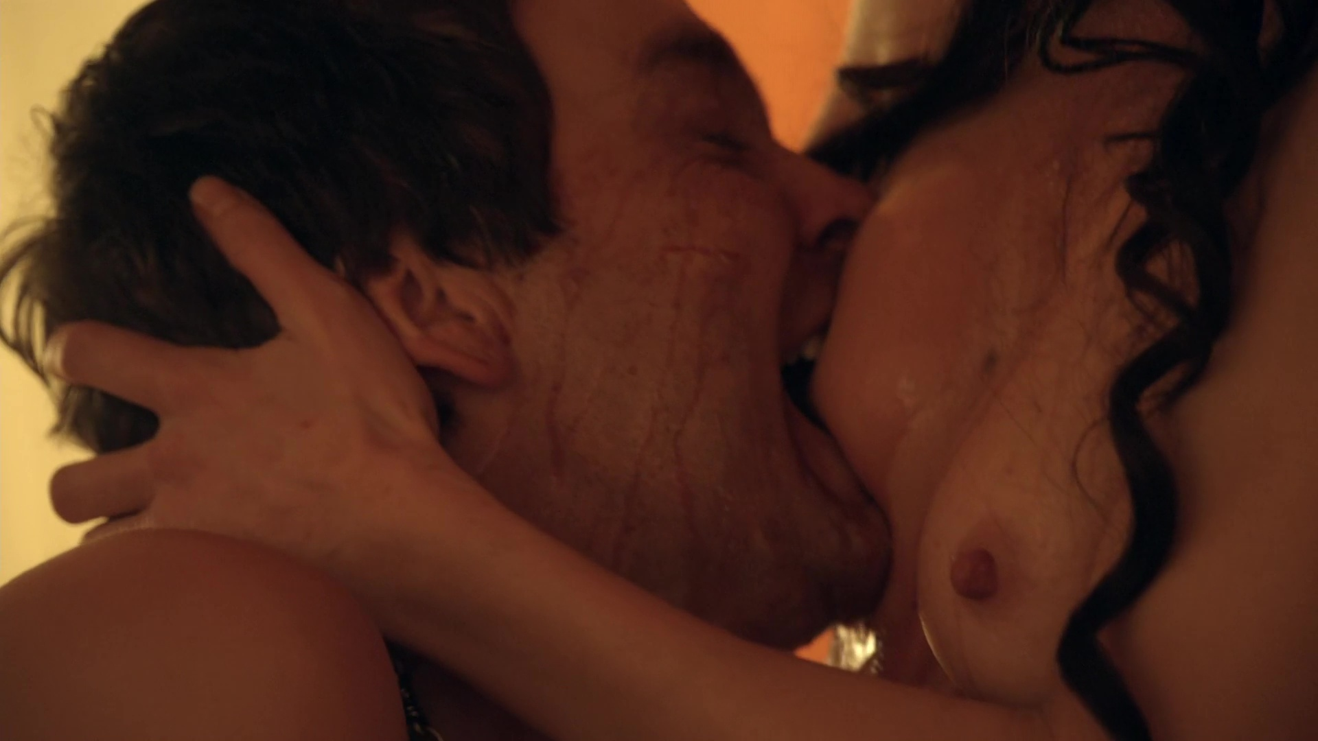 Naked Jaime Murray in Spartacus Gods of the Arena