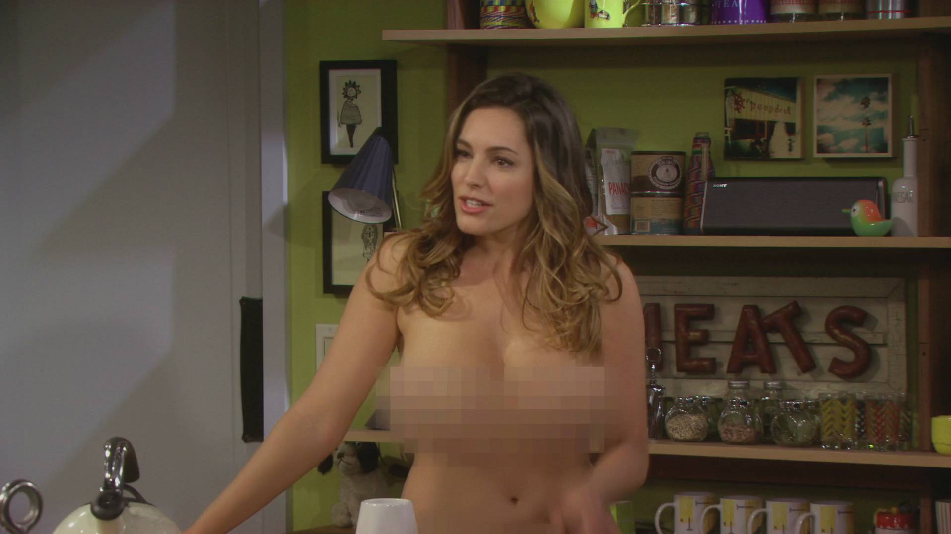 Naked Kelly Brook in One Big Happy
