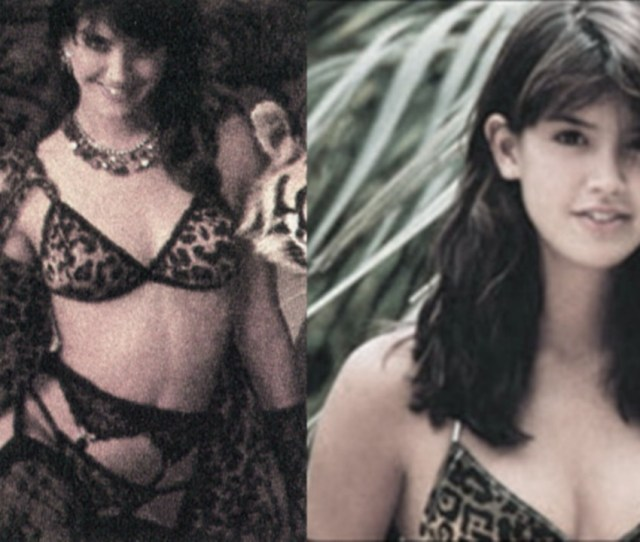 Naked Phoebe Cates In Lace 1 2