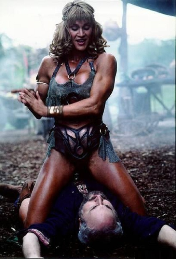 Cory Everson Nude : everson, Naked, Corinna, Everson, Hercules:, Legendary, Journeys, ANCENSORED