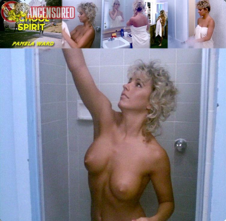 Naked Pam Ward in School Spirit