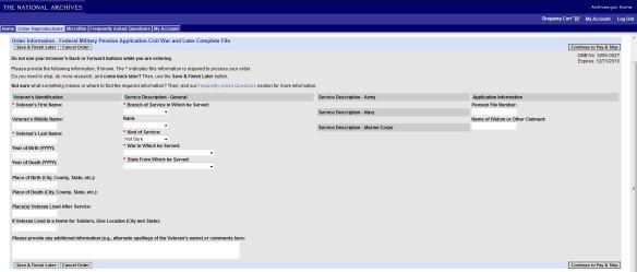 NATF 85D online form