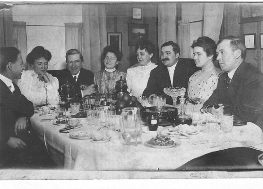 1909 Dinner in New York City