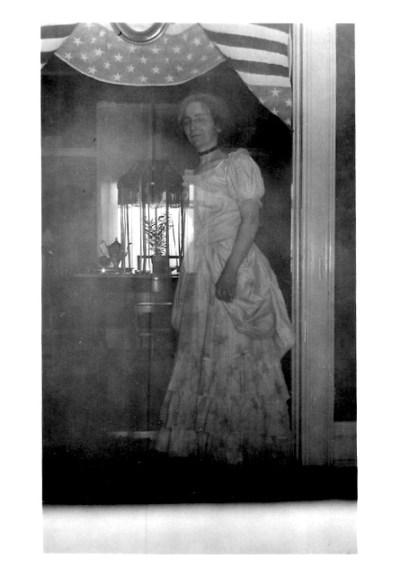 Maude Bartlett --tea party