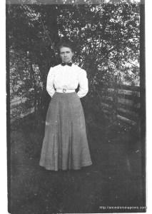 Emma Kaser Sutherland, circa 1910